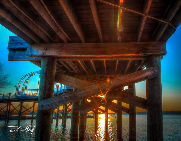 Photograph - Under The Bridge by William Reek