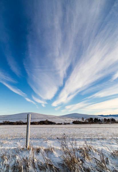 Photograph - Under Wyoming Skies by Michael Chatt