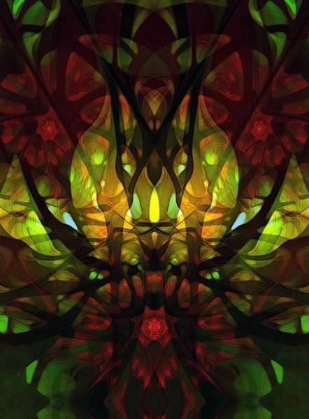 Digital Art - Undergrowth by Amanda Moore
