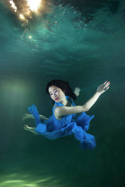 Underwater Photograph - Underwater by Mark Mawson