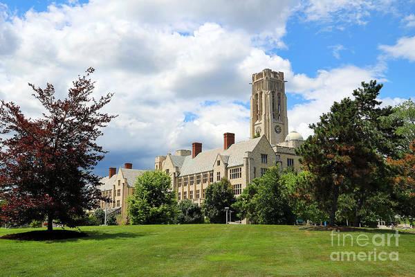 Mac Photograph - University Hall University Of Toledo 1593 by Jack Schultz