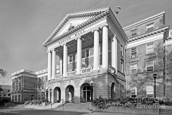 Photograph - University Of Wisconsin Madison Bascom Hall by University Icons