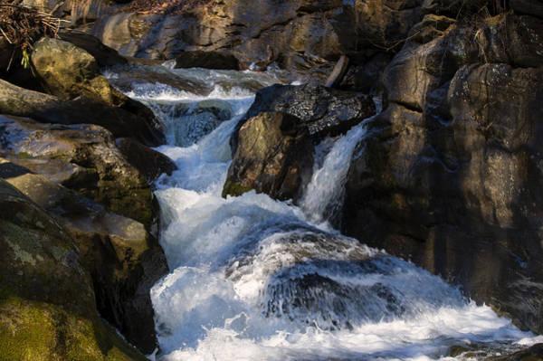 Digital Art - unnamed NC waterfall by Chris Flees