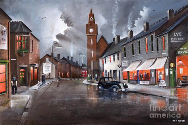 Painting - Untarian Chapel - Lye by Ken Wood