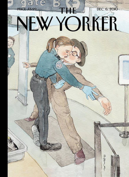 Painting - New Yorker December 6th, 2010 by Barry Blitt