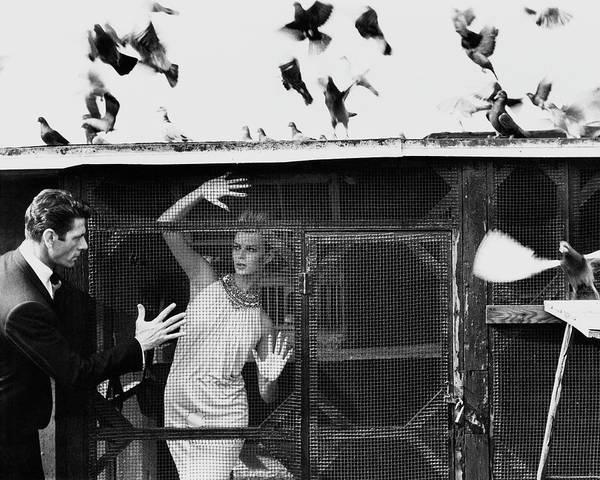 Model A Photograph - Vogue July 1st, 1962 by Bert Stern