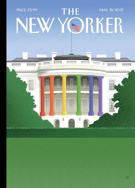 Political Wall Art - Painting - Spectrum Of Light by Bob Staake