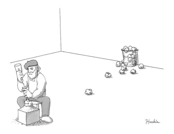 Charlie Hankin Drawing - New Yorker October 17th, 2016 by Charlie Hankin