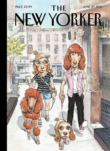 Pet Painting - New Yorker June 27th, 2011 by John Cuneo