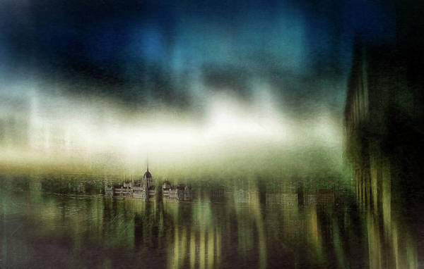 Painterly Photograph - Untitled by Krisztina Lacz