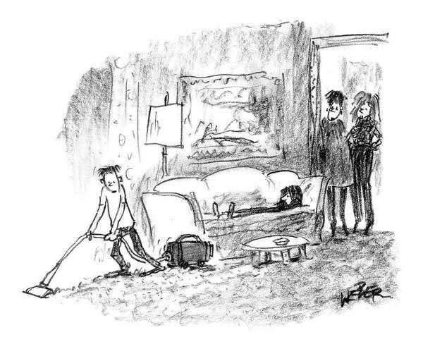 Career Drawing - Michael Takes by Robert Weber