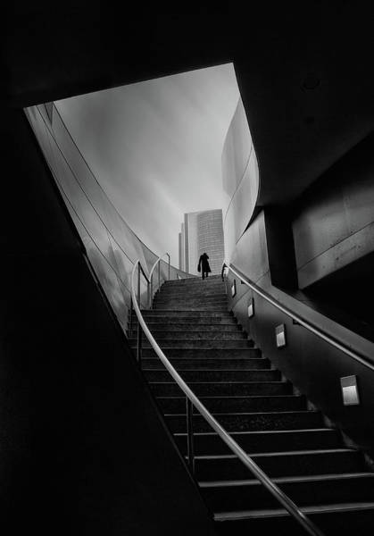 Handrail Photograph - Untitled by Roxana Labagnara