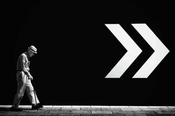 Arrow Photograph - Untitled by Tatsuo Suzuki