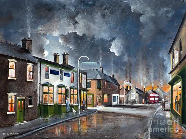 Painting - Upper High Street - Lye by Ken Wood