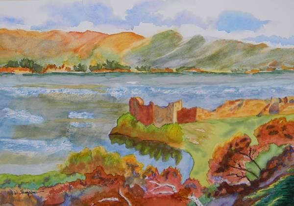 Urquhart Castle Art Print by Warren Thompson