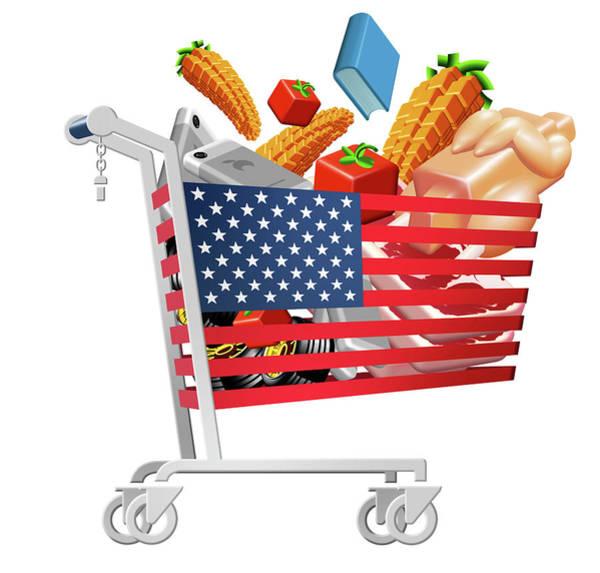 Index Photograph - Us Inflation Index by Smetek