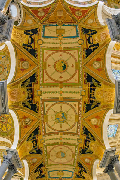 Photograph - Us Library Of Congress by Susan Candelario