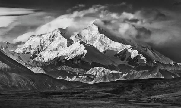 Alaskan Photograph - Usa, Alaska Range by John Ford