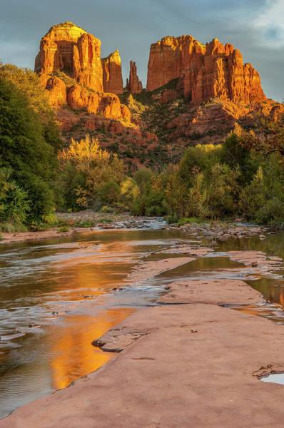 Wall Art - Photograph - Usa, Arizona, Sedona, Cathedral Rock by George Theodore