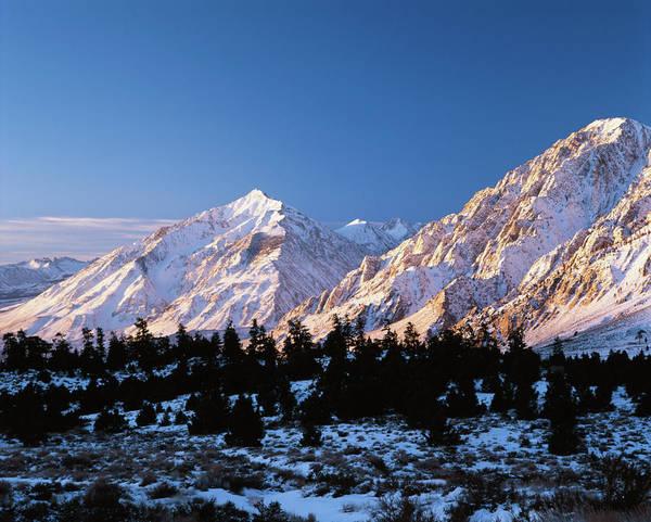 Mt. Adams Photograph - Usa, California, Wheeler Crest And Mt by Adam Jones