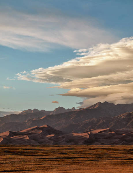 Usa, Colorado, Great Sand Dunes Art Print by Ann Collins