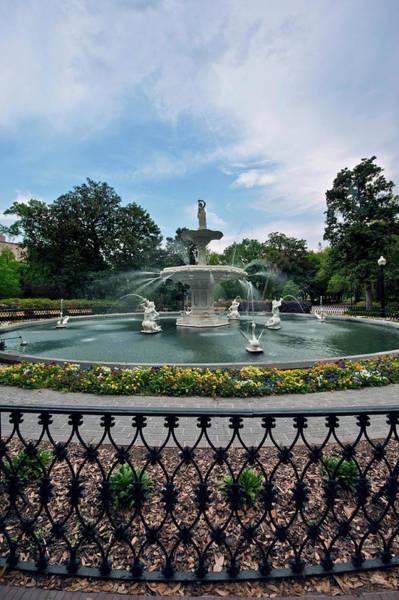 Forsyth Photograph - Usa, Ga, Savannah, Forsyth Park by Rob Tilley