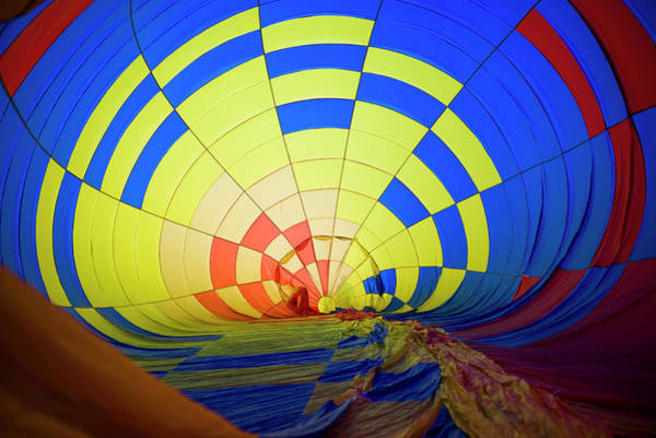 Wall Art - Photograph - Usa, Massachusetts, Hudson, Ballon by Walter Bibikow