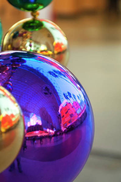 Bauble Wall Art - Photograph - Usa, Nevada Christmas Decorations by Michael Defreitas