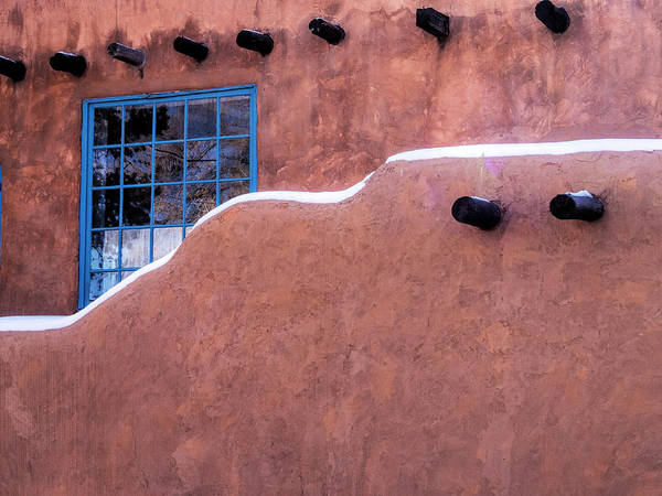 Bucket Photograph - Usa, New Mexico, Sant Fe, Adobe by Terry Eggers