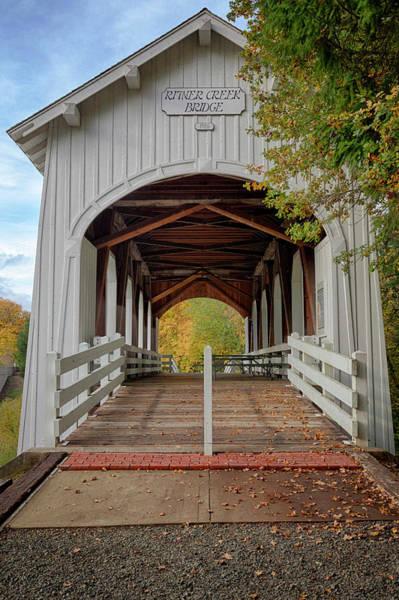 Wayside Photograph - Usa, Oregon, Pedee, Minnie Ritner by Rick A Brown