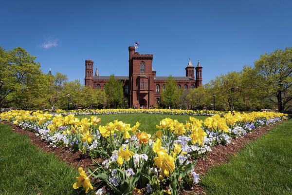 Castle Garden Photograph - Usa, Washington, Dc by Christopher Reed