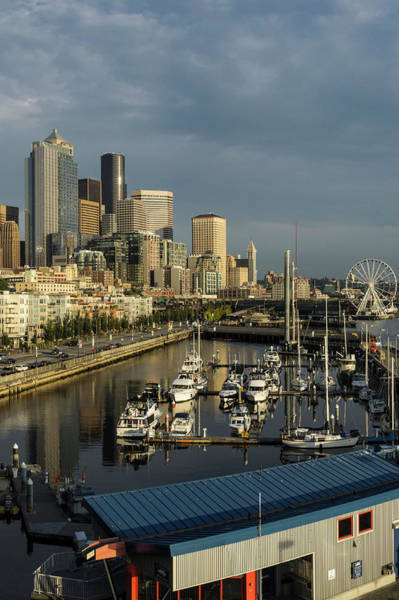 Pier 66 Photograph - Usa, Washington, Seattle by Charles Crust