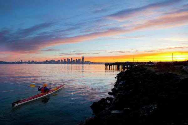 Glorious Wall Art - Photograph - Usa, Washington State, Seattle by Gary Luhm