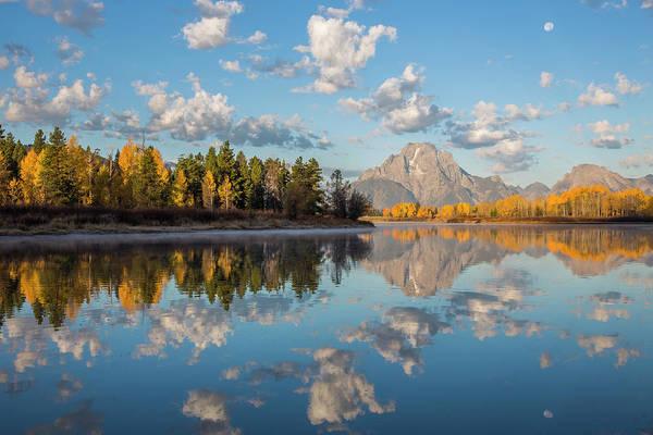 Mount Moran Photograph - Usa, Wyoming, Grand Teton National by Elizabeth Boehm