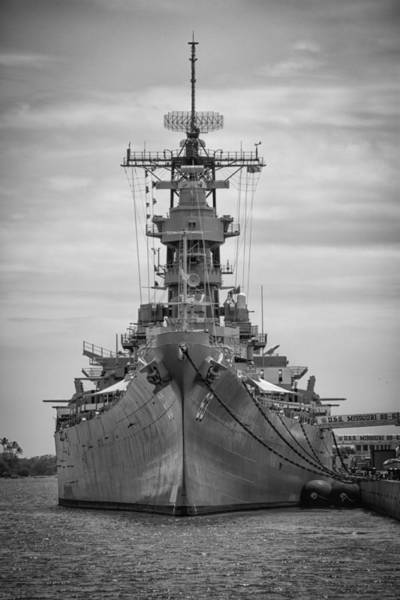 Uss Arizona Wall Art - Photograph - Uss Missouri by Mike Burgquist