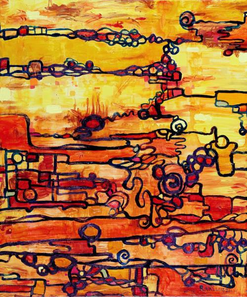 Painting - Vacuum Energy by Regina Valluzzi