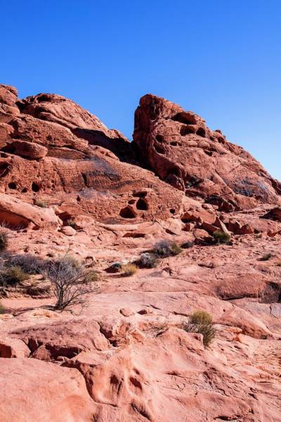 Eroded Photograph - Valley Of Fire State Park by Photostock-israel/science Photo Library