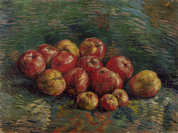 Painting - Van Gogh Apples, 1887 by Granger