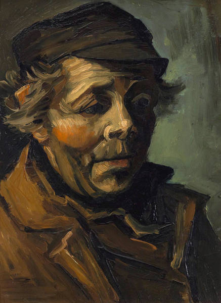 Wall Art - Painting - Van Gogh Peasant, 1884 by Granger