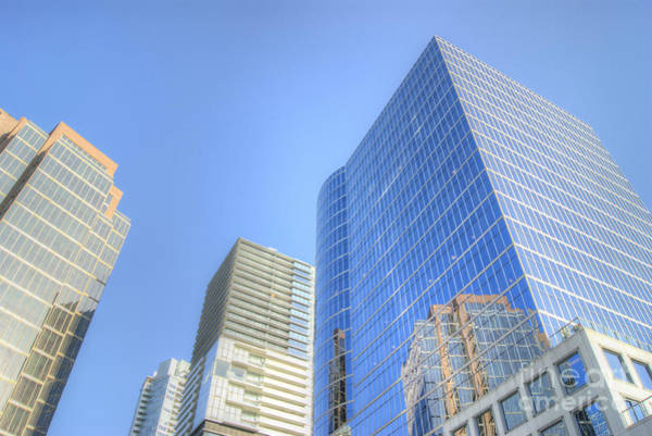 Photograph - Vancouver Cityscape 3 by David Birchall