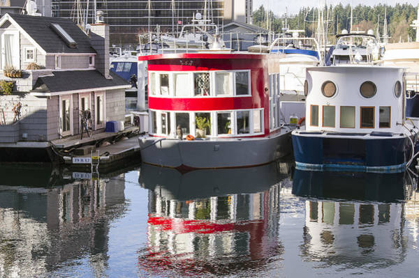 Photograph - Vancouver Houseboats by Ross G Strachan
