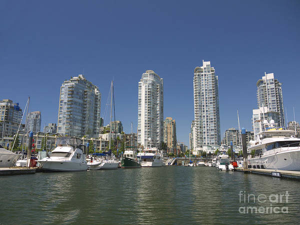 Photograph - Vancouver Skyline by Brenda Kean