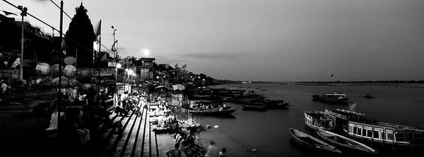 Ganges River Photograph - Varanasi, India by Panoramic Images