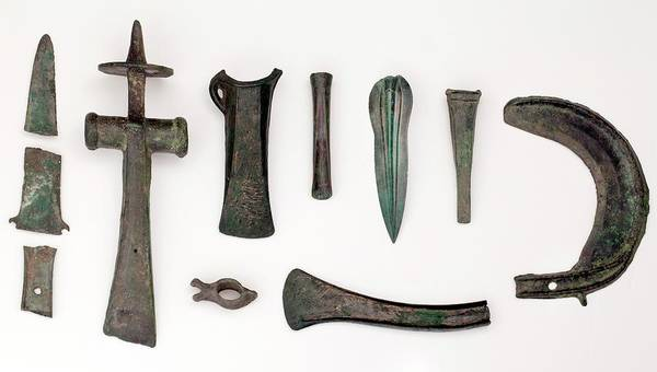 Bronze Age Wall Art - Photograph - Variety Among Bronze Age Tools by Paul D Stewart