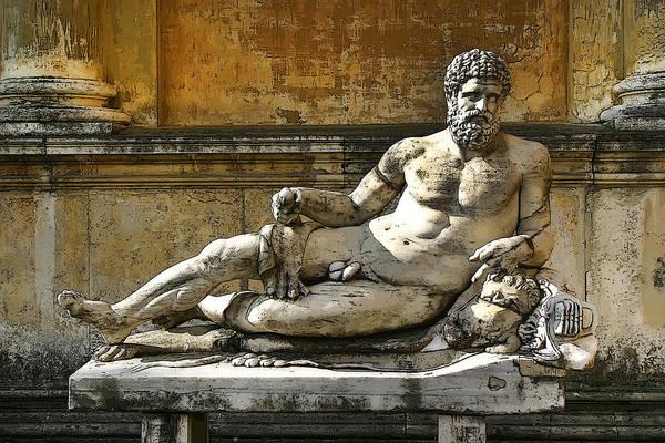 Photograph - Vatican Museum Art by KG Thienemann