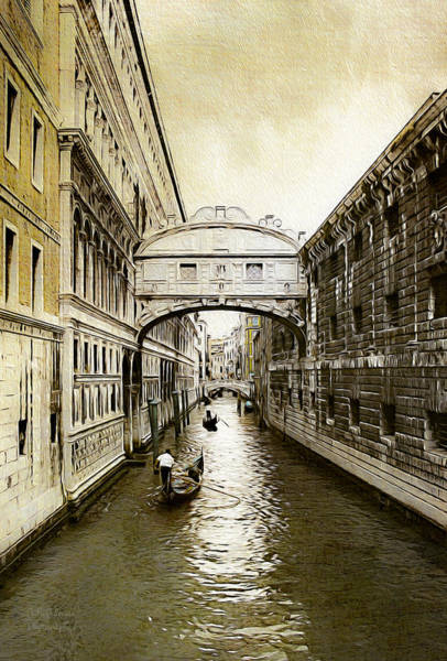 Photograph - Venice City Of Canals  by Julie Palencia