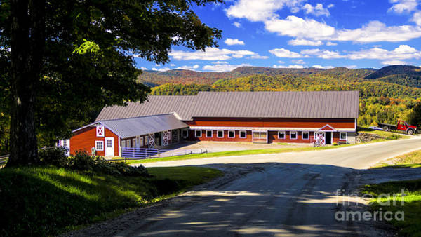Photograph - Vermont Farm. by New England Photography