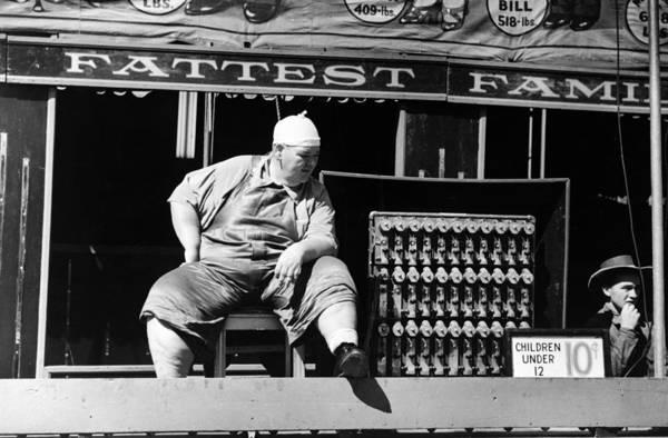 Rutland Photograph - Vermont Sideshow, 1941 by Granger