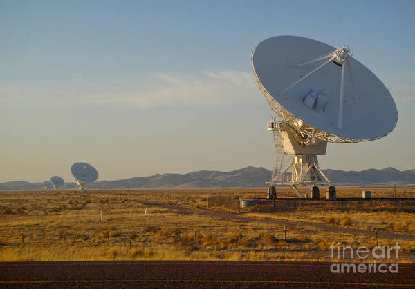Photograph - Very Large Array by Gregory Dyer