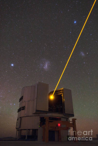 Photograph - Very Large Telescope Vlt by Babak Tafreshi